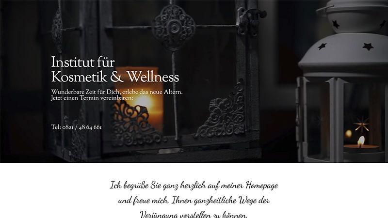 wunderlekosmetik Wunderlandmedia webdesign augsburg