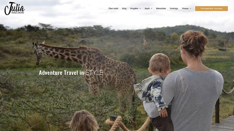 juliamalchow Website Wunderlandmedia webdesign augsburg