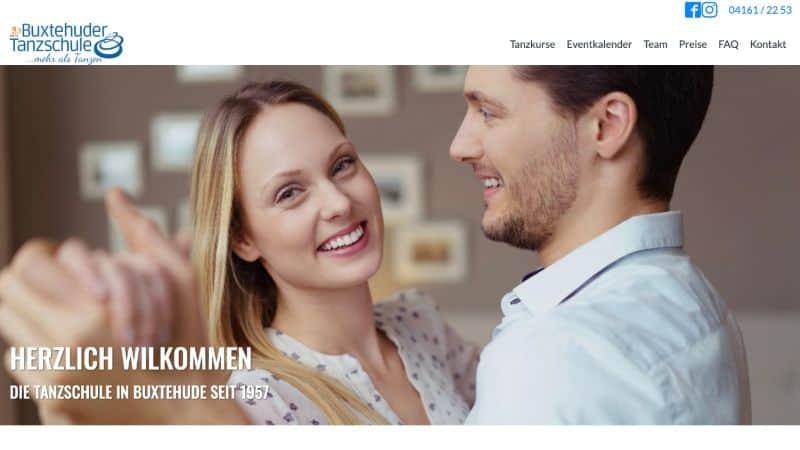 buxtehuder tanzschule Wunderlandmedia webdesign augsburg